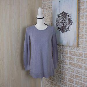 LOFT light plum color lightweight sweater